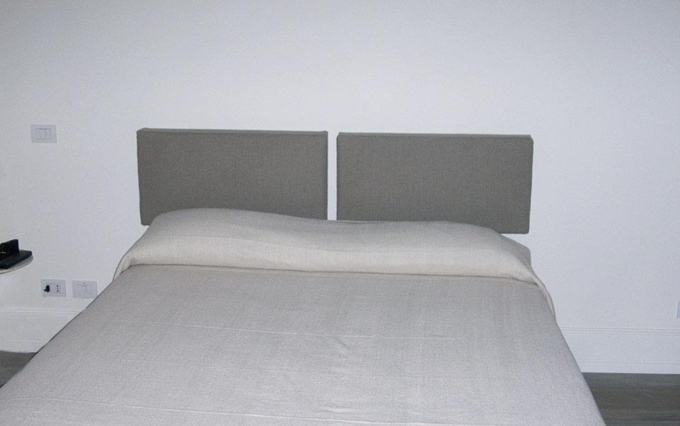 Testate letto Showroom | Solo Tappezzeria | Solo Tappezzeria